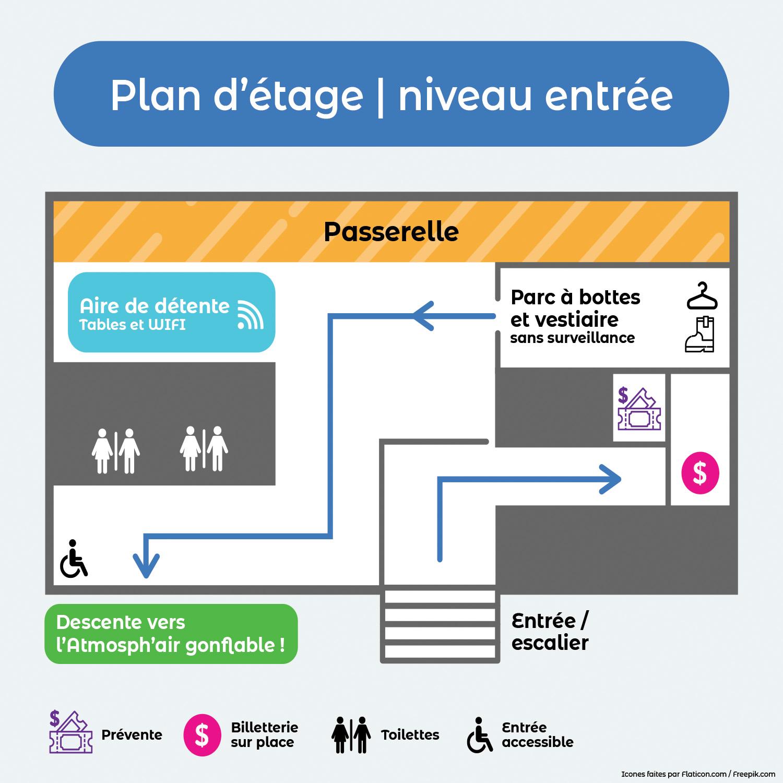 Plan - Niveau entrée
