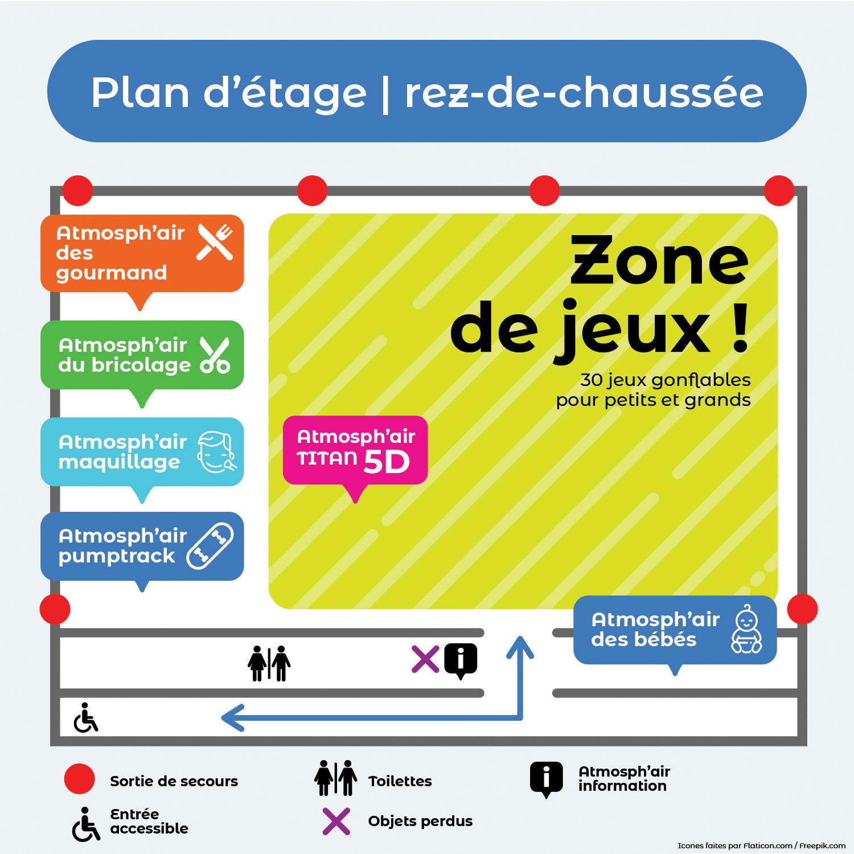 Plan - Rez-de-chaussée